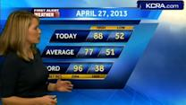 Eileen's Saturday Morning Forecast 4.27.13