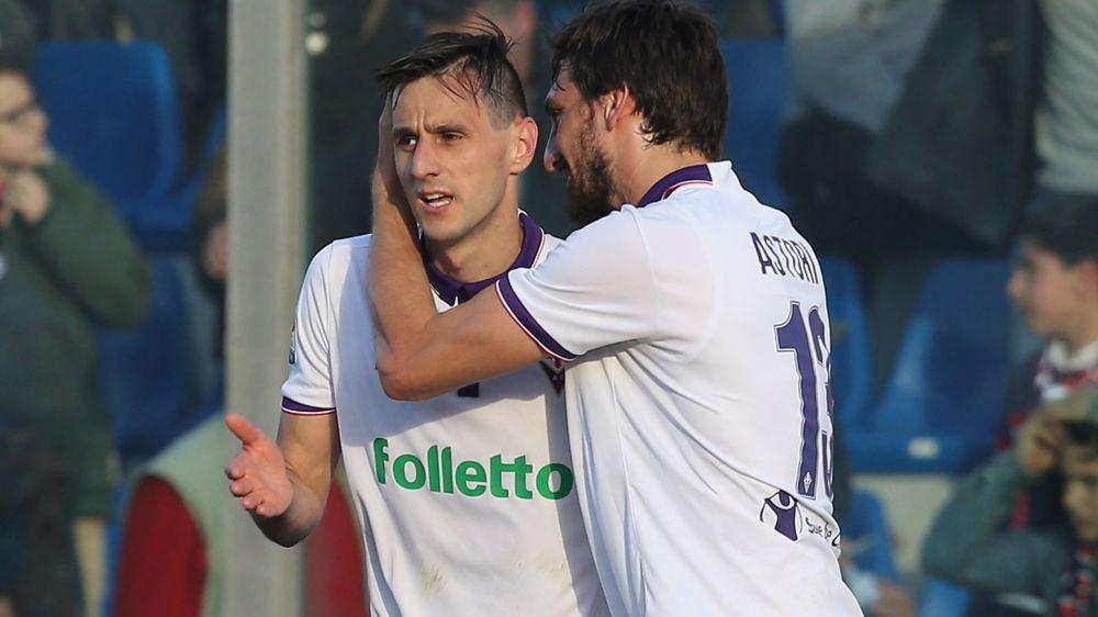Crotone-Fiorentina 0-1: Kalinic alla Cesarini, altro colpo viola