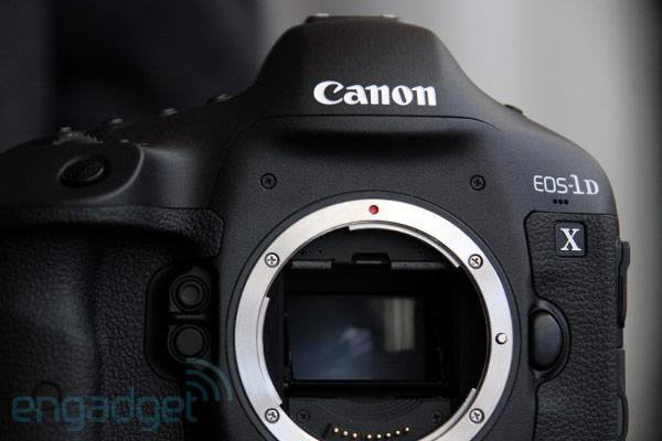 Canon EOS-1D X first hands-on (video)