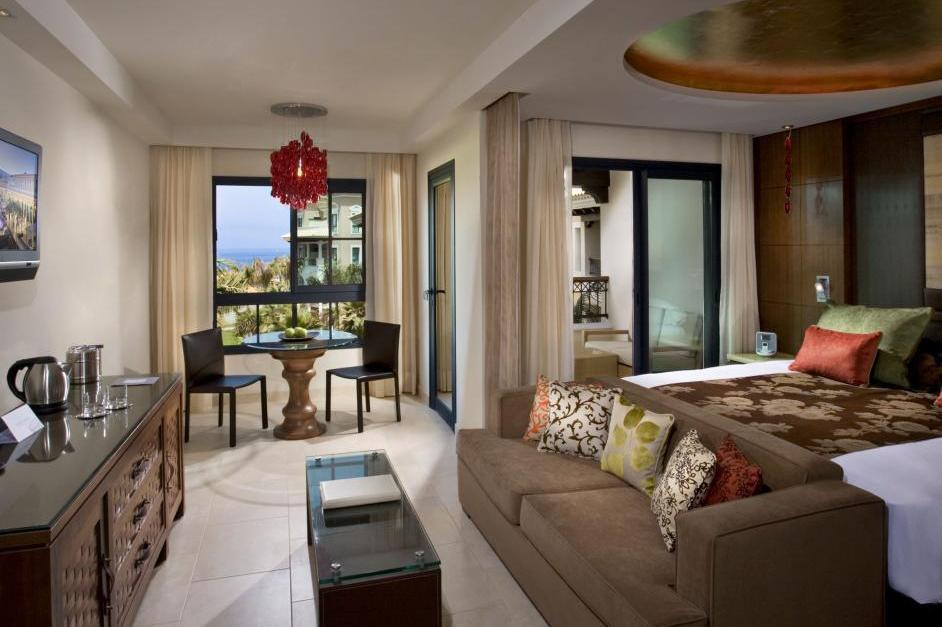 """For real luxury, this adults-only oceanfront complex offers a personalised butler service in all rooms. The outdoor pool has Balinese beds and hydromassage loungers. Each room has a private terrace with ocean or garden views. Visit <a href=""""https://www.melia.com/en/hotels/spain/tenerife/red-level-at-gran-melia-palacio-de-isora/index.html"""" target=""""_blank"""">melia.com</a>for more."""