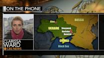 CBS News team free after being detained in Ukraine