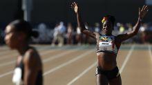 Corrió 800 metros con un embarazo de 4 meses