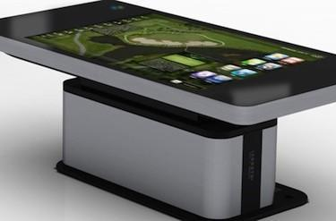 Hyundai IT shows off 70-inch multitouch table concept