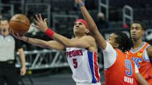 Pistons hand Thunder 9th straight loss with 110-104 victory