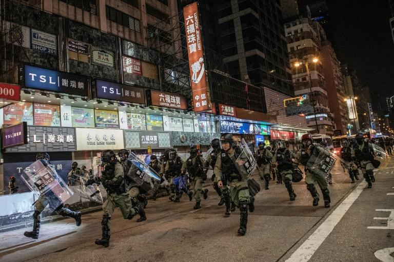 China Announces Sanctions Against U.S. Over Support For Hong Kong Protests
