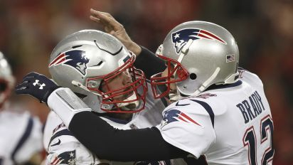 Wild finish sends Patriots to another Super Bowl