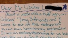 You Have To See The Apology Teens Left A Waiter