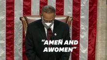 """Le """"amen"""" inclusif de cet élu démocrate n'a pas plu aux républicains"""