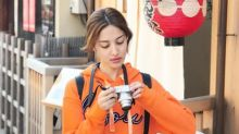 Grace Chan denies cutting lines at Osaka airport