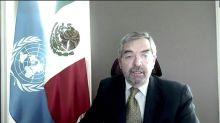 México pide al Consejo de Seguridad de la ONU que se pronuncie por conflicto entre Israel y Palestina