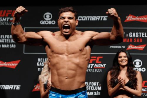 Paulo Borrachinha é confirmado no UFC Rio contra Oluwale Bamgbose