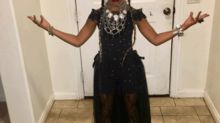 Little girl dressed as Beyonce has absolutely nailed it