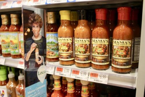 sauce on shelf in Harlem
