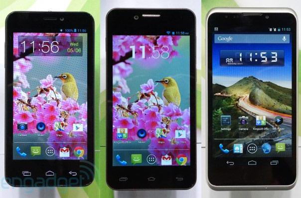 Gigabyte outs three low- to mid-range handsets with dual SIM slots, we go hands-on (video)
