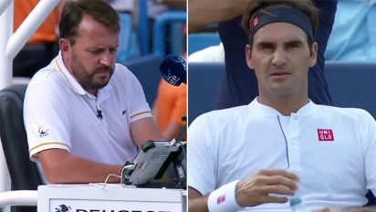 Federer shocks fans with foul-mouthed outburst