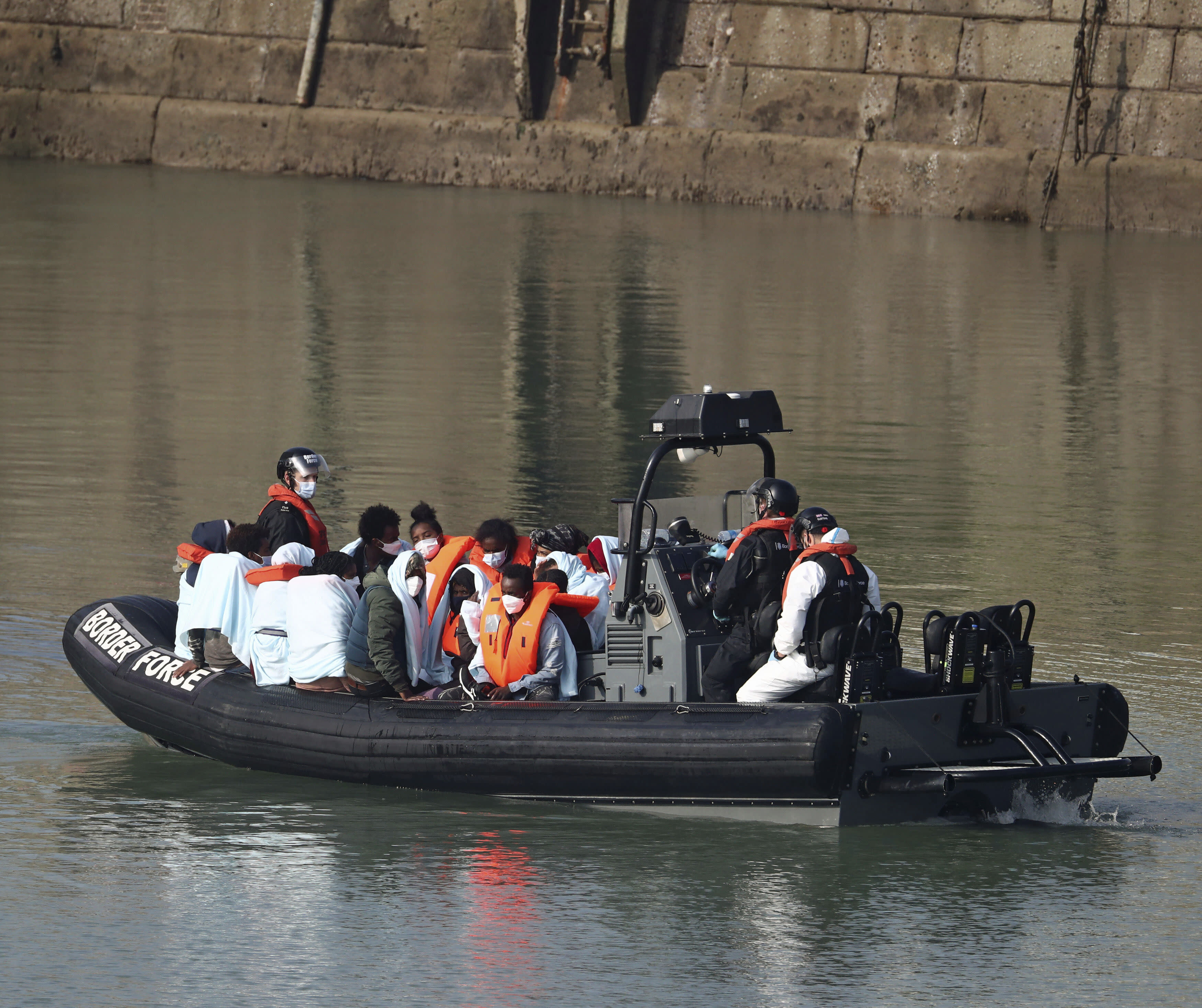 United Kingdom  mulled sending asylum-seekers to remote Atlantic island