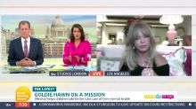 Goldie Hawn says COVID pandemic worse than 9/11 for children's mental health