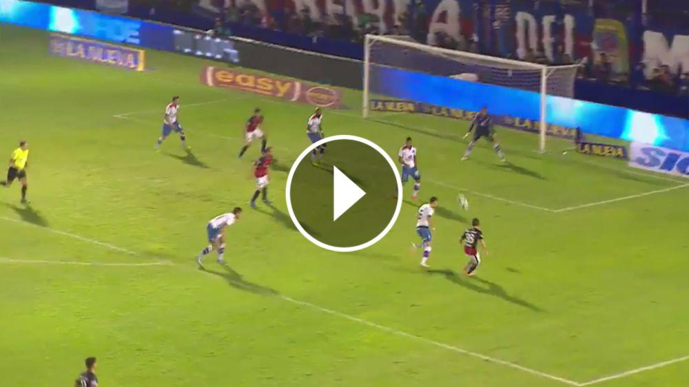 VIDEO: San Lorenzo lo dio vuelta con dos vaselinas: ahora fue el turno de Merlini