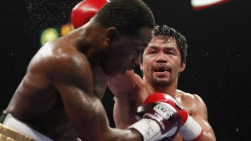 Pacquiao 'is fine' after eye injury scare