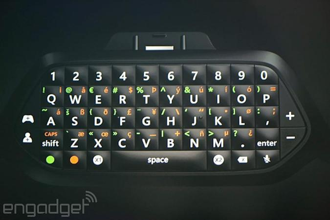 The Chatpad returns on Xbox One this November