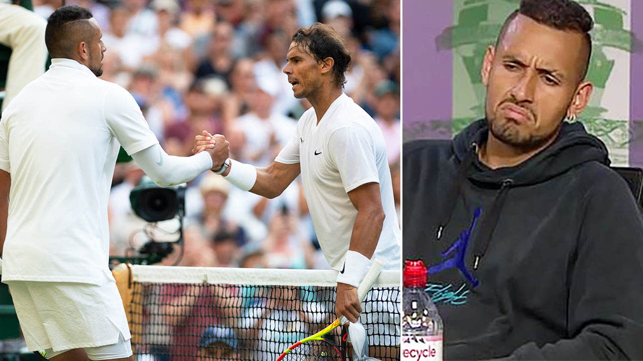 'Wanted to hit him': Kyrgios-Nadal war explodes in ugly Wimbledon moment