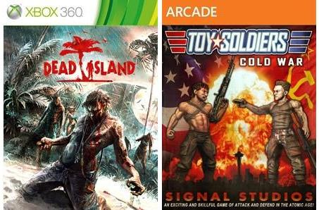 Toy Soldiers: Cold War, Dead Island free for Xbox Live Gold members in February