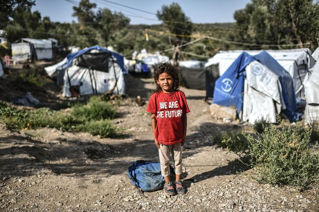 The Moria refugee camp on the Greek island of Lesbos is reputed to have the worst living conditions