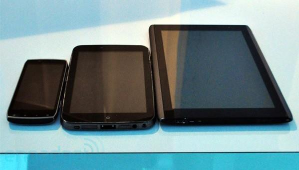 Acer building Sandy Bridge tablets for Android, will use them to 'phase out' netbooks