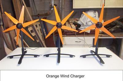 Orange UK's wind-powered charger to blow into shops?