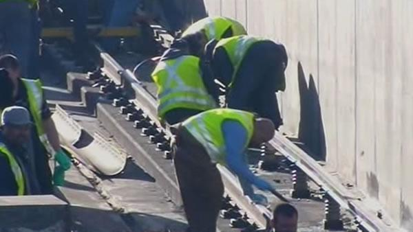 BART completes temporary repairs to Transbay Tube
