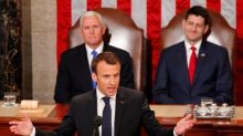 France's Macron says U.S. should not ditch Iran deal without new accord