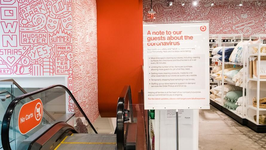 News post image: Target rings up additional $300 million in first-quarter costs as March food and beverage comps soar 50%