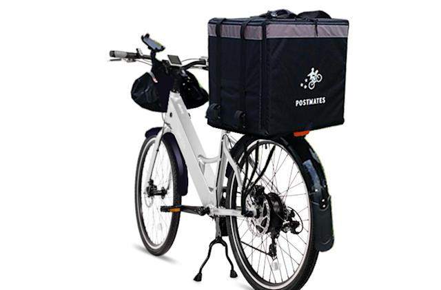 Now Postmates' SF couriers can make eco-friendly deliveries