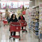 Retailers, tech stocks hit Wall Street