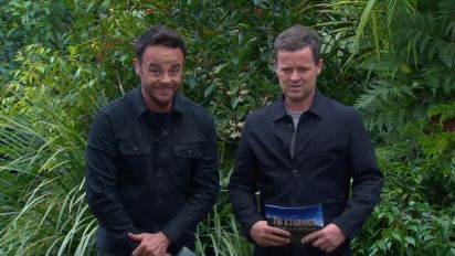 Ant McPartlin back filming I'm A Celeb with Dec