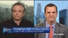 Investor on Facebook pursuing original content: 'Hollywood is a completely different monster'