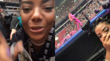Ludmilla vibra em show de Beyoncé na Holanda: 'Eu tô passando mal'