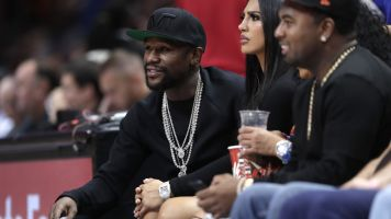 Mayweather's daughter arrested after stabbing