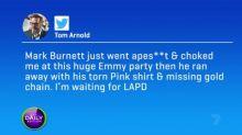 Pre-show brawl at Emmy Awards