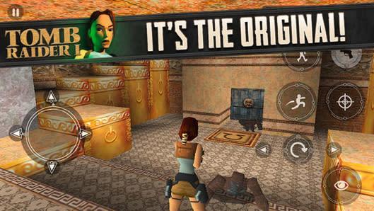 Original Tomb Raider sneaks onto iOS
