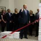 AP FACT CHECK: Trump's iffy numbers on regulation