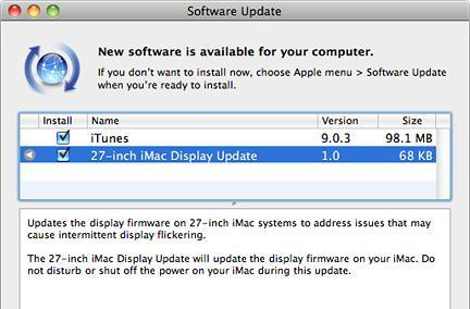27-inch iMac gets another display firmware update, everyone else gets minor iTunes update