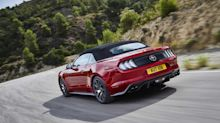 Vídeo: desfile récord de Ford Mustang