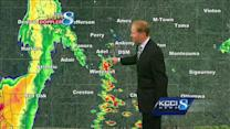 Video-Cast: 2 rounds of storms begin today
