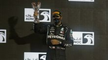 Speedy Sir: Lewis Hamilton knighted in year-end royal honours