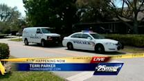 Police searching home of animal advocate