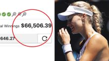 'Biggest choke of all time' costs punter 66K at US Open