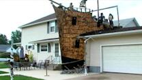 Two-Story Pirate Ship Emerges From Ohio Home