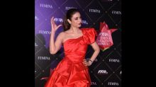 Woah! Tabu's Red Gown Is Definitely A Sartorial Delight