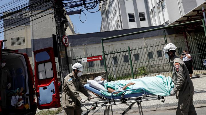 Paciente morre em evacuação por incêndio no Hospital no Rio
